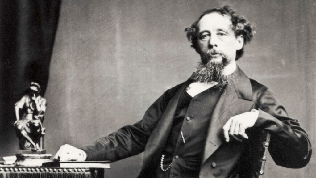 Charles Dickens - Portrait of the British novelist. 1812-1870 (Photo by Culture Club/Getty Images)