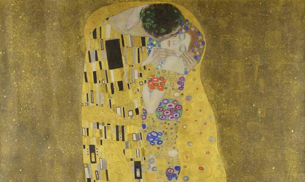 Gustav Klimt - Poljubac